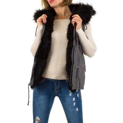 Mantel für Damen in Grau
