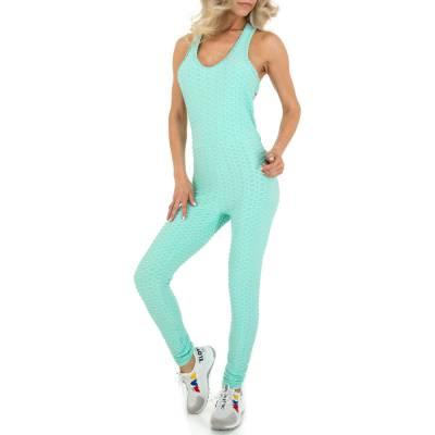Langer Jumpsuit für Damen in Blau