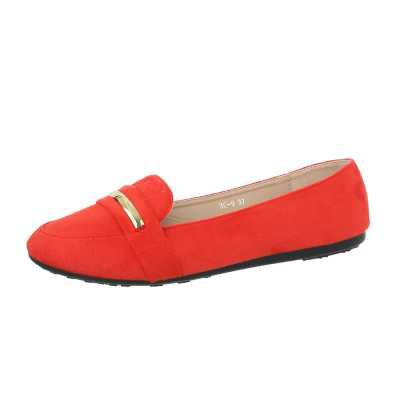 Slipper für Damen in Rot