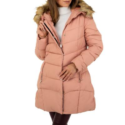 Wintermantel für Damen in Rosa