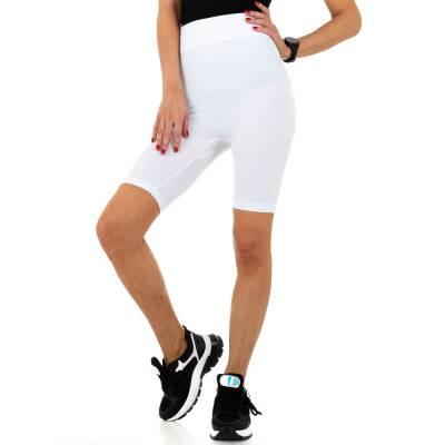 High Waist Shorts für Damen in Weiß