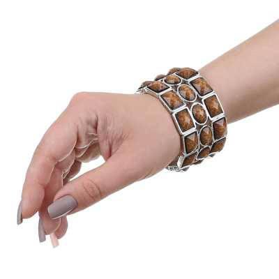 Armband für Damen in Braun