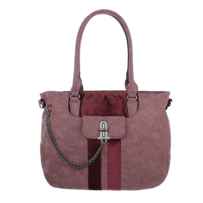 Shopper für Damen in Rosa
