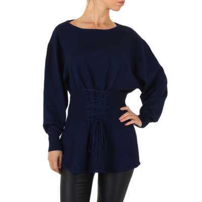 Pullover & Strick für Damen in Blau
