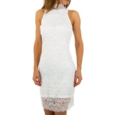 Cocktailkleid für Damen in Weiß