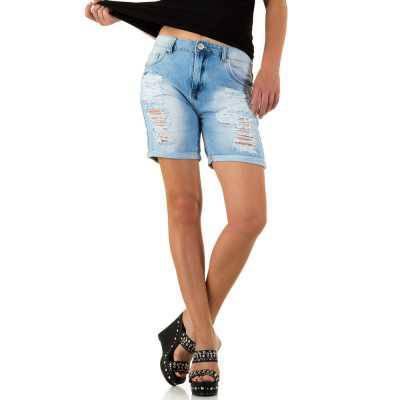 Jeansshorts für Damen in Blau