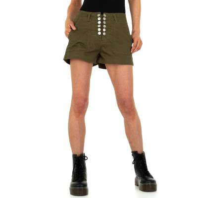 Hotpants für Damen in Braun