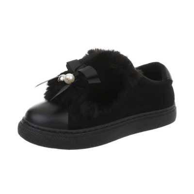 Sneakers low für Damen in Schwarz