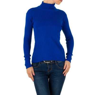 Strickpullover für Damen in Blau