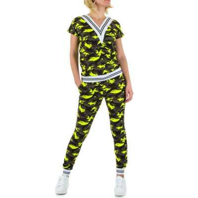 Jogging- & Freizeitanzug für Damen in Camouflage
