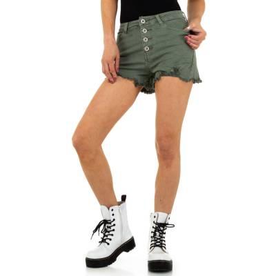 Jeansshorts für Damen in Braun
