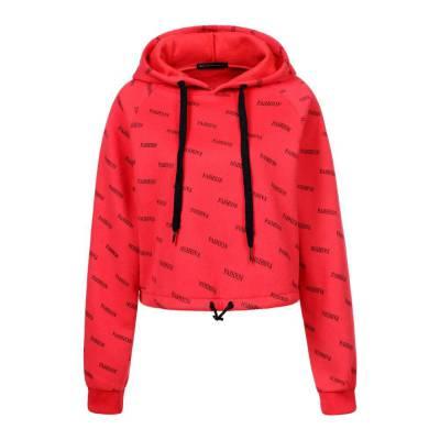 Sweatshirt für Damen in Rot