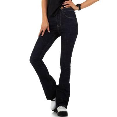 Bootcut Jeans für Damen in Blau