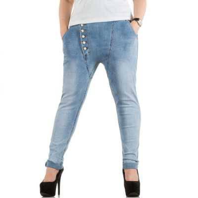 Boyfriend Jeans für Damen in Blau