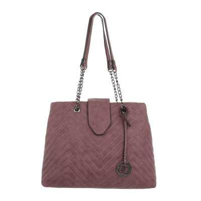 Mittelgroße Damen Tasche Rosa Lila