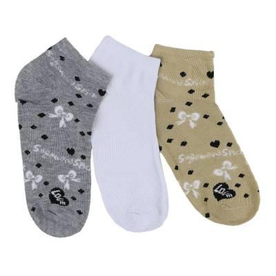 12 Paar Damen Socken Weiß