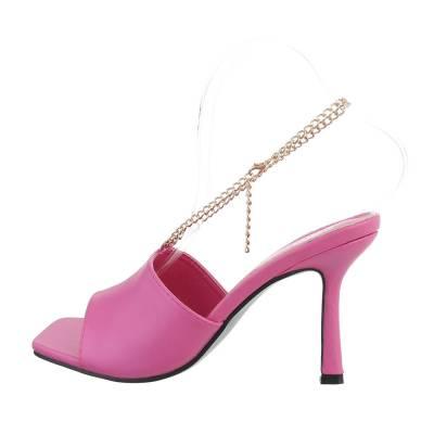 High Heel Sandaletten für Damen in Lila