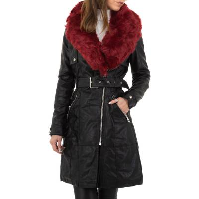 Wintermantel für Damen in Schwarz