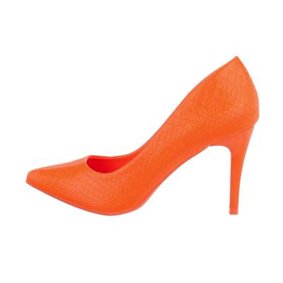 High Heel Pumps für Damen in Orange