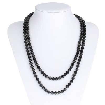 Halskette für Damen in Schwarz