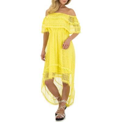 Sommerkleid für Damen in Gelb
