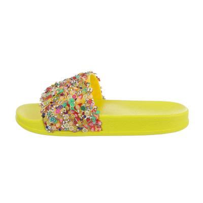 Sandalen für Kinder in Gelb