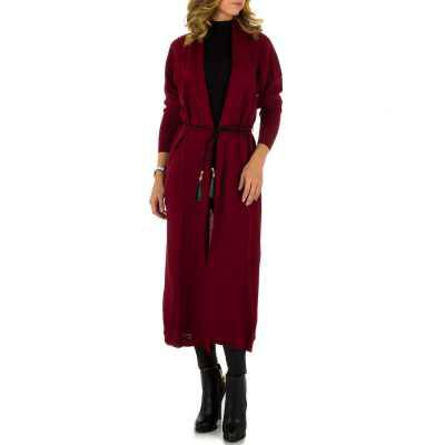 Strickcardigan für Damen in Rot