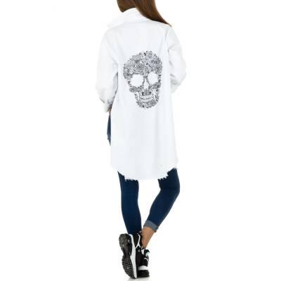Kurzmantel für Damen in Weiß