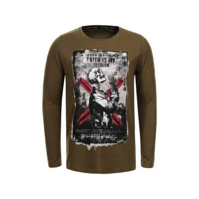 T-Shirt für Herren in Braun