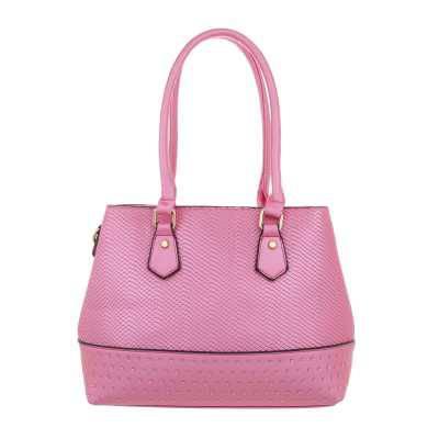 Mittelgroße Damen Tasche Pink