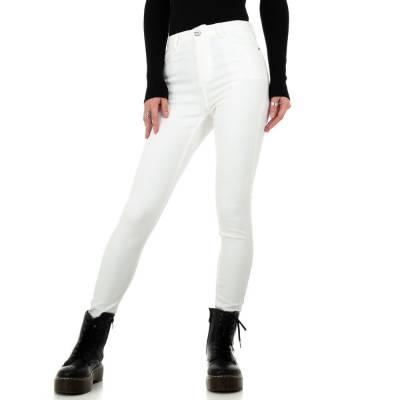 High Waist Jeans für Damen in Weiß