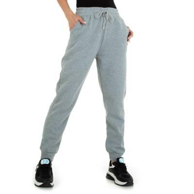 Boyfriend-Hose für Damen in Grau