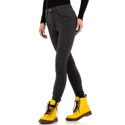 Skinny Jeans für Damen in Schwarz