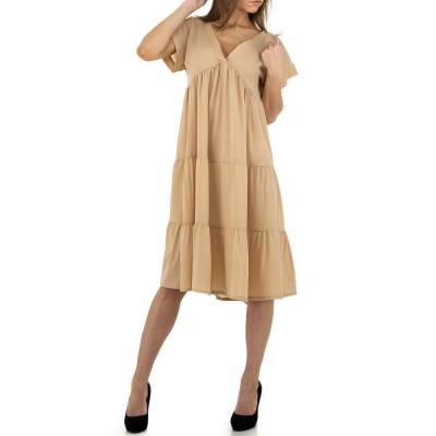 Blusenkleid für Damen in Beige