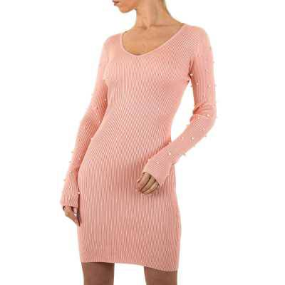 Stretchkleid für Damen in Rosa