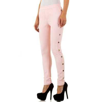 Skinny-Hose für Damen in Rosa