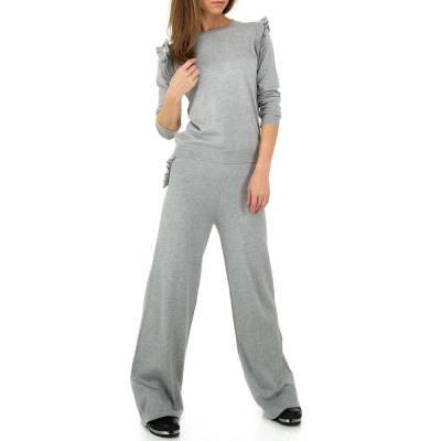 Jogging- & Freizeitanzug für Damen in Grau