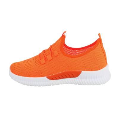Sneakers low für Damen in Orange