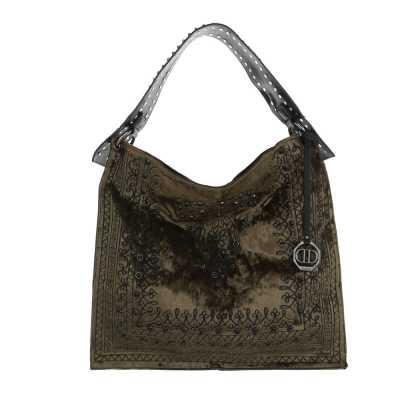 Große Damen Tasche Khaki