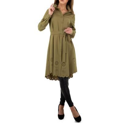 Longbluse für Damen in Grün