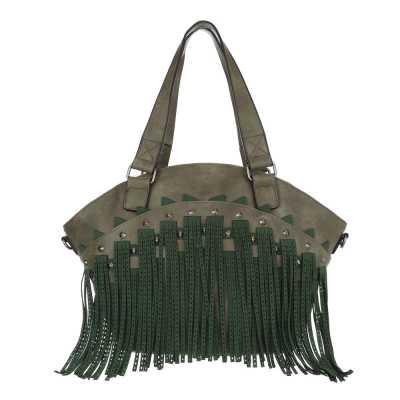 Shopper für Damen in Grün