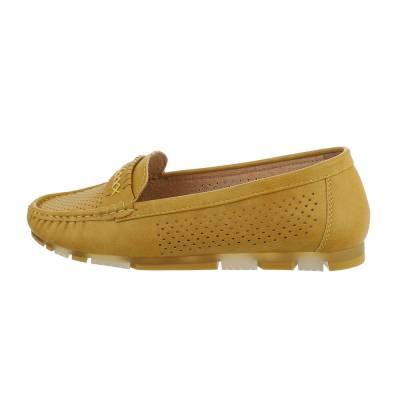 Mokassins für Damen in Gelb