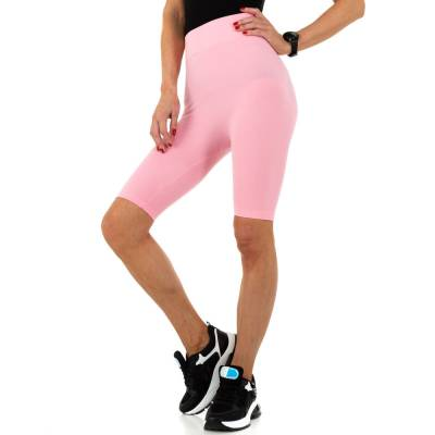 High Waist Shorts für Damen in Rosa