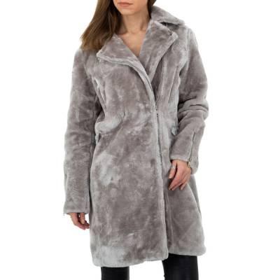 Wintermantel für Damen in Grau