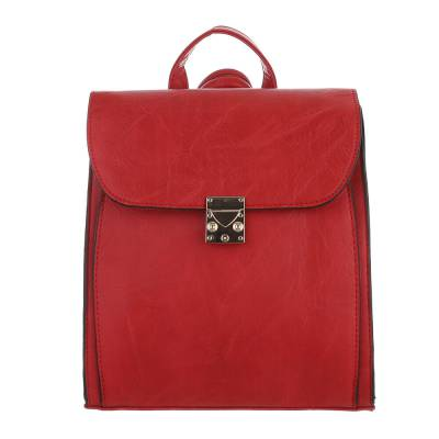 Rucksack für Damen in Rot