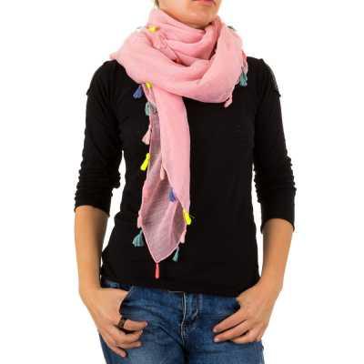 Fransen Tuch Xxl Schal Pink