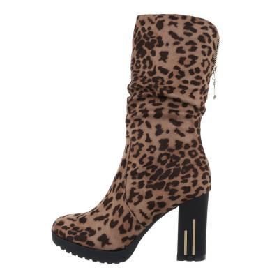 High Heel Stiefel für Damen in Mehrfarbig