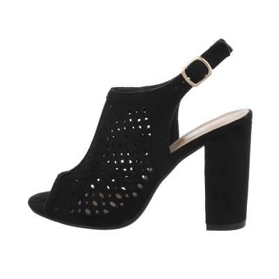 High Heel Sandaletten für Damen in Schwarz