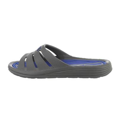 Sandalen für Herren in Grau