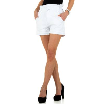 High Waist Shorts für Damen in Weiß